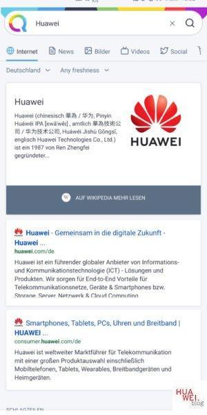 Qwant und HUAWEI - Für bessere Suchergebnisse! 2