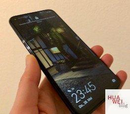 Front Huawei P40 Lite