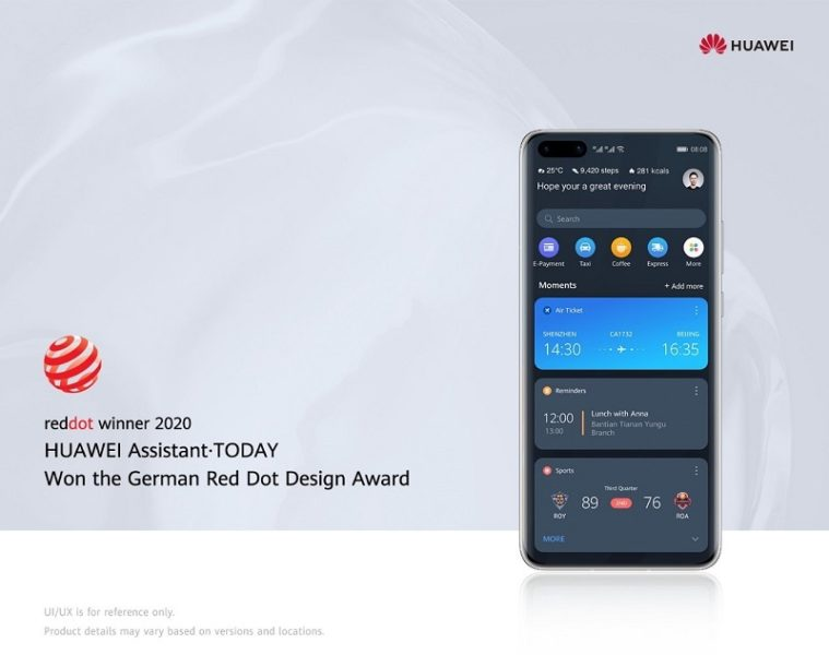HUAWEI Assistant gewinnt Red Dot Award 2020 (#MarcoMotzt) 1