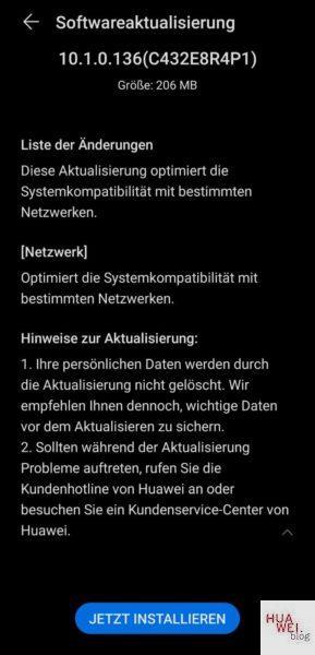 Huawei P40 Pro Firmwareupdate - Übersicht 25