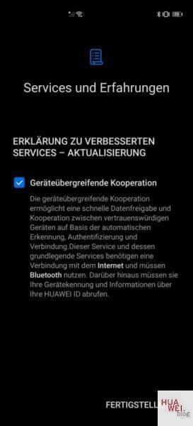 Huawei P40 Pro Firmwareupdate - Übersicht 34