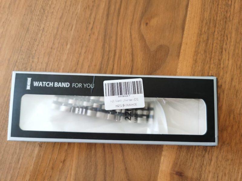 HUAWEI Watch Gt2e - Armbänder im Test - Metall - Gliederarmband - Verpackung