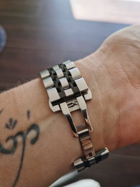 HUAWEI Watch Gt2e - Armbänder im Test - Metall - Gliederarmband - Verschluß