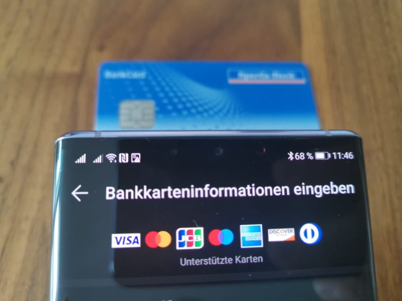 HUAWEI bietet jetzt auch Paypal als Zahlungsmethode an 2