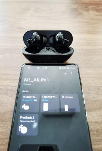 Huawei Freebuds Pro Test AI Life App