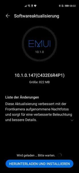 Huawei P40 Pro Firmwareupdate - Übersicht 21