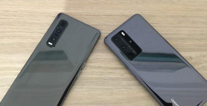 Huawei P40 pro vs. Oppo Find X2 Pro im direkten Vergleich