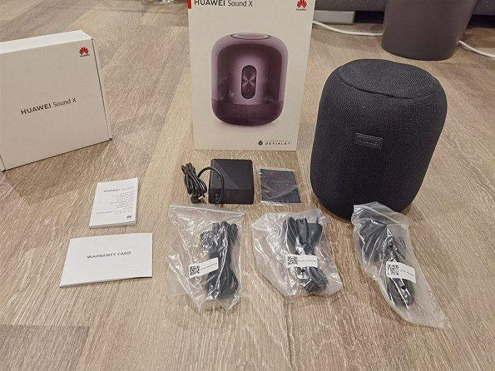 HUAWEI Sound X Test Unboxing