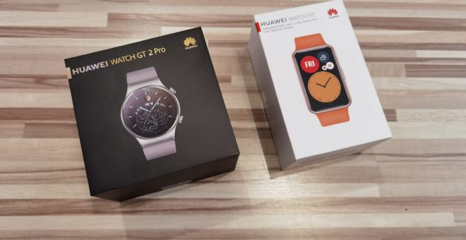 #HDC2020: Huawei Watch GT 2 Pro und Watch Fit