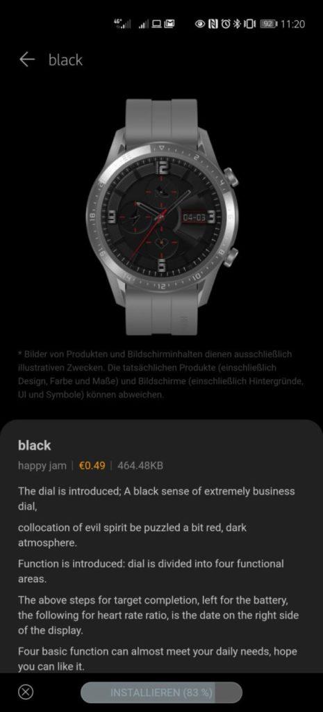 Endlich Watchfaces kaufen in der HUAWEI Health App! 4