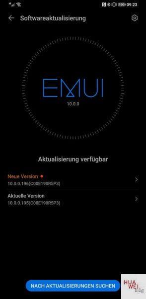 HUAWEI Mate 30 Pro Firmware 10.0.0.196