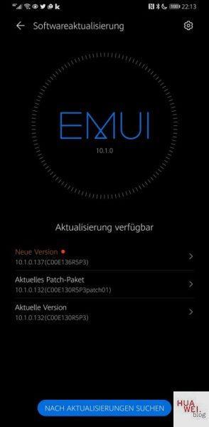 HUAWEI Mate 30 Pro Firmware 10.1.0.137
