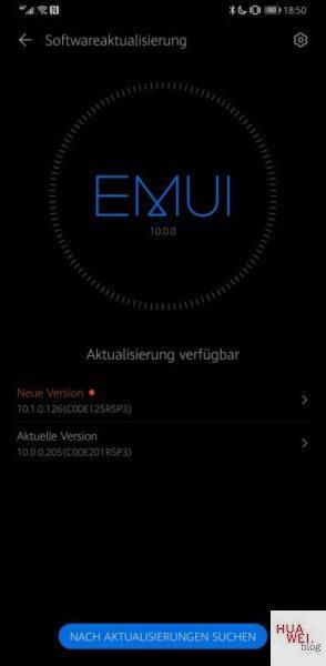 Mate 30 Pro Firmwareupdate EMUI 10.1