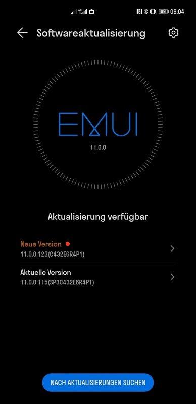 HUAWEI Mate 40 Pro Firmwareupdate 11.0.0.123
