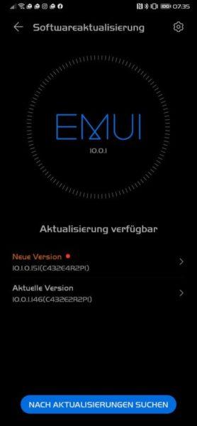 HUAWEI Mate Xs Firmwareupdate - Junipatch kommt 7
