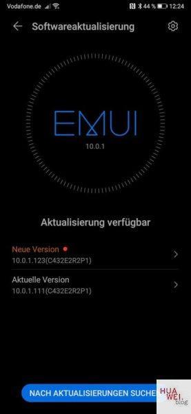 HUAWEI Mate Xs Firmwareupdate Maerz 2020