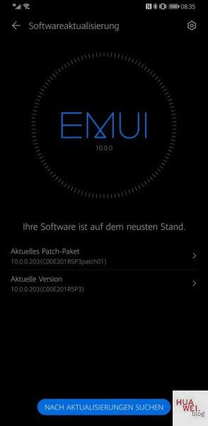Huawei Mate 30 Pro Firmware Systempatch März