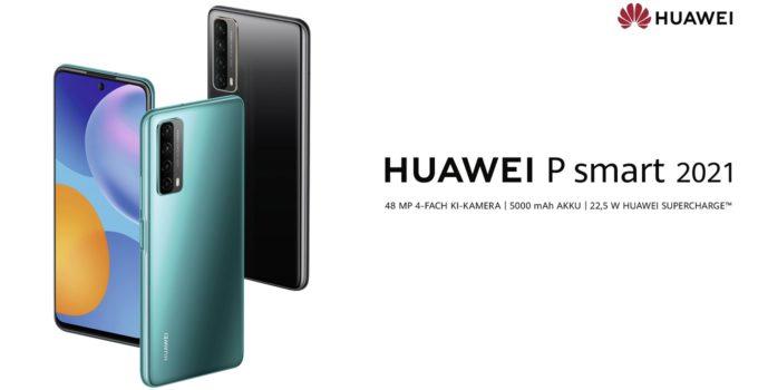 HUAWEI P Smart 2021 Titelbild