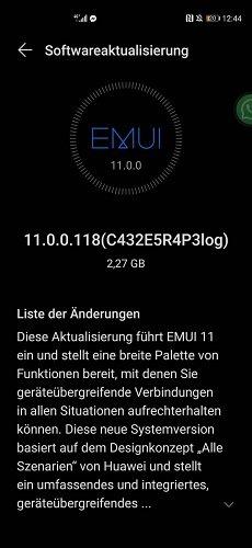 HUAWEI P40 EMUI 11 Beta
