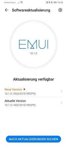 HUAWEI P30 Pro Firmware Update 156