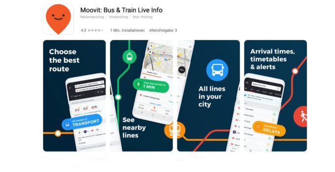 Moovit App - HUAWEI - AppGallery - Titel