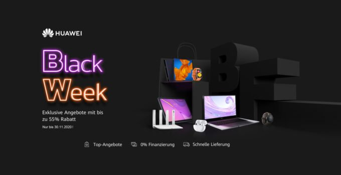 HUAWEI Blackfriday Blackweek 2020 Titel