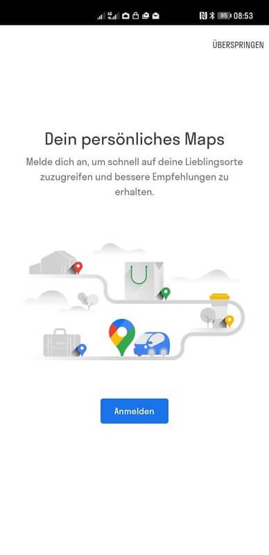 HUAWEI Google Apps Maps