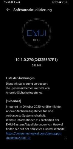 HUAWEI Mate 30 Pro 10.1.0.270 Update (Update)