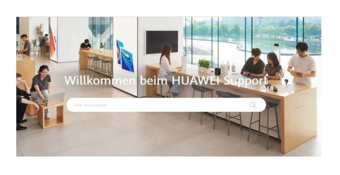 HUAWEI Support Titelbild