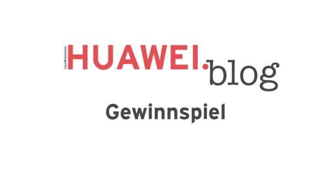 HUAWEIblog Gewinnspiel - Titel
