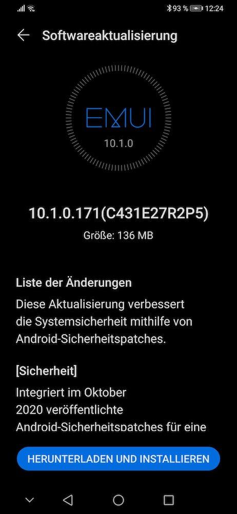 Huawei-P30-Oktober-Patch-2020