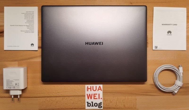 HUAWEI Matebook 14 2020 Test Lieferumfang