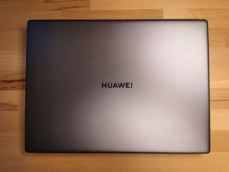 HUAWEI Matebook 14 2020 Test Obere Ansicht