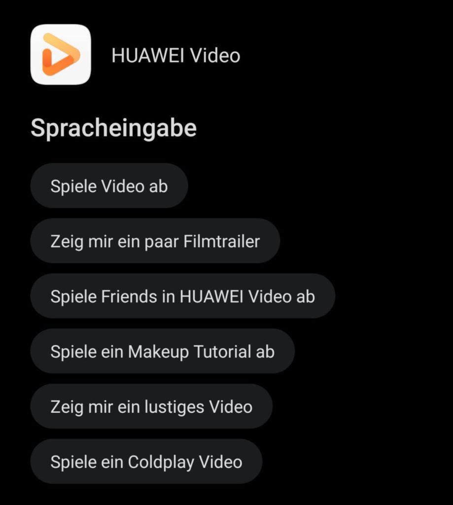 HUAWEI Sprachassistent Celia - Sprachbefehl - HUAWEI Video