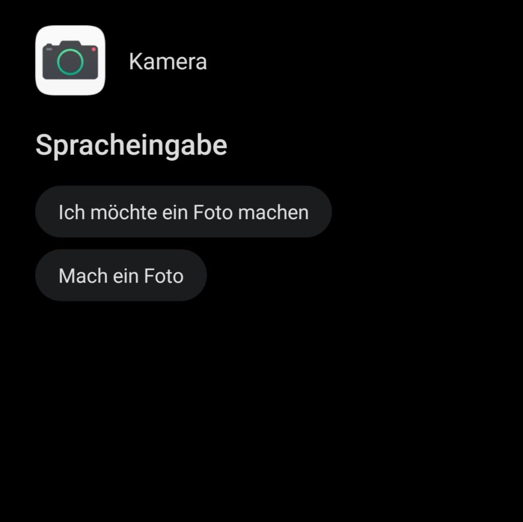 HUAWEI Sprachassistent Celia - Sprachbefehl - Kamera