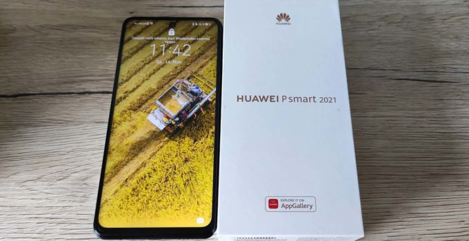 HUAWEI P Smart 2021 - Test - Titelbild