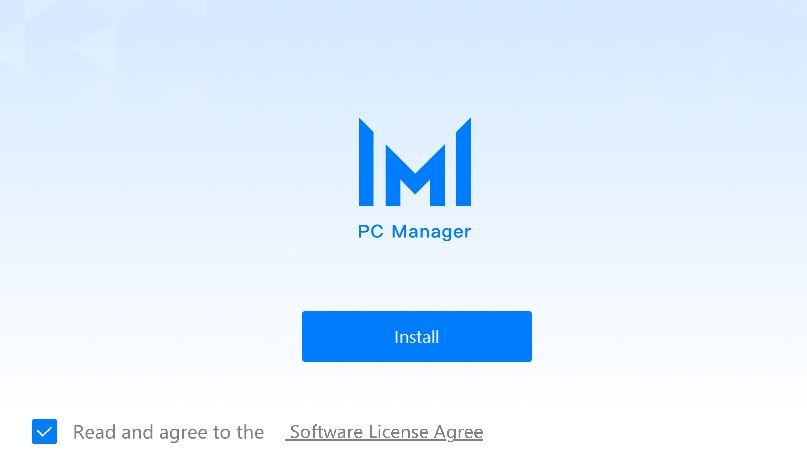 PC Manager Installation