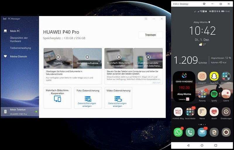 HUAWEI PC Manager Microsoft Surface