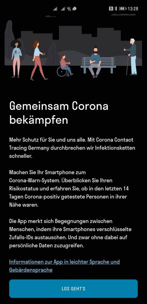 HUAWEI Corona App