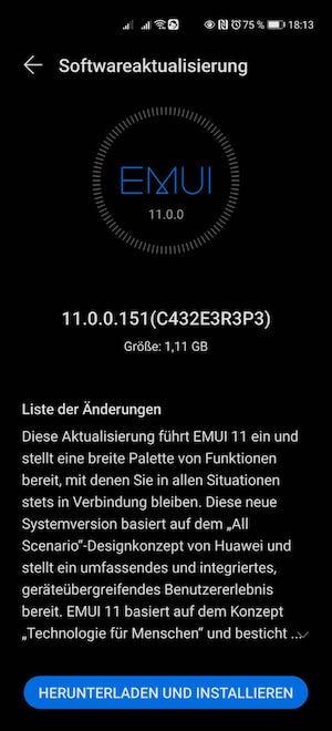 Huawei P40 Pro Firmwareupdate - Übersicht 16