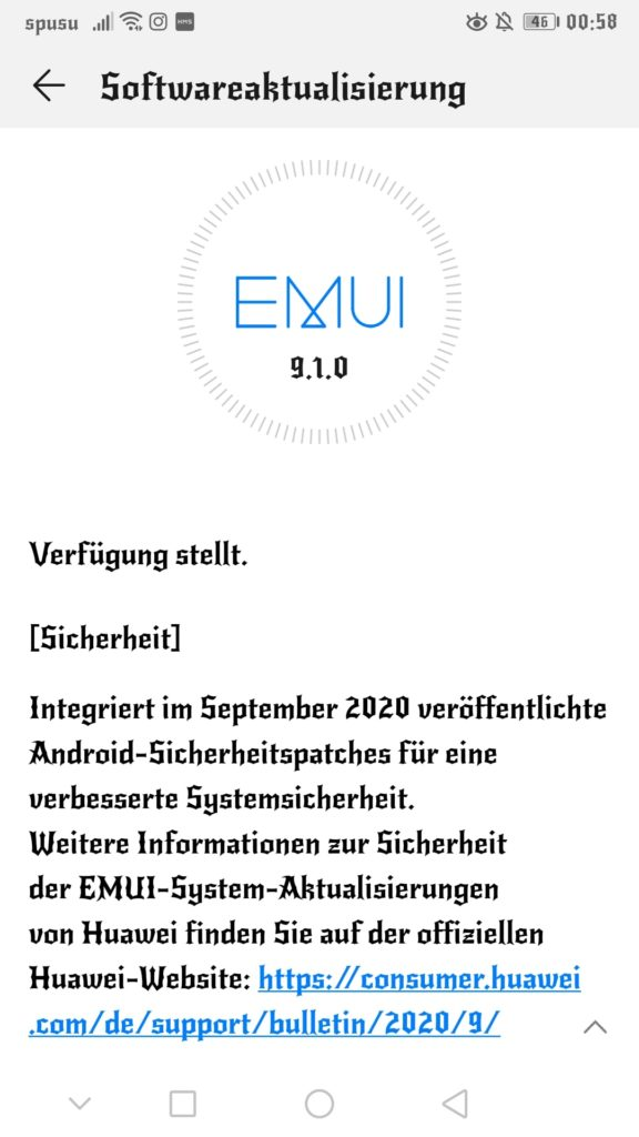 Huawei Mate 9 erhält den Septemberpatch und Funktionen zur Akkuschonung 1