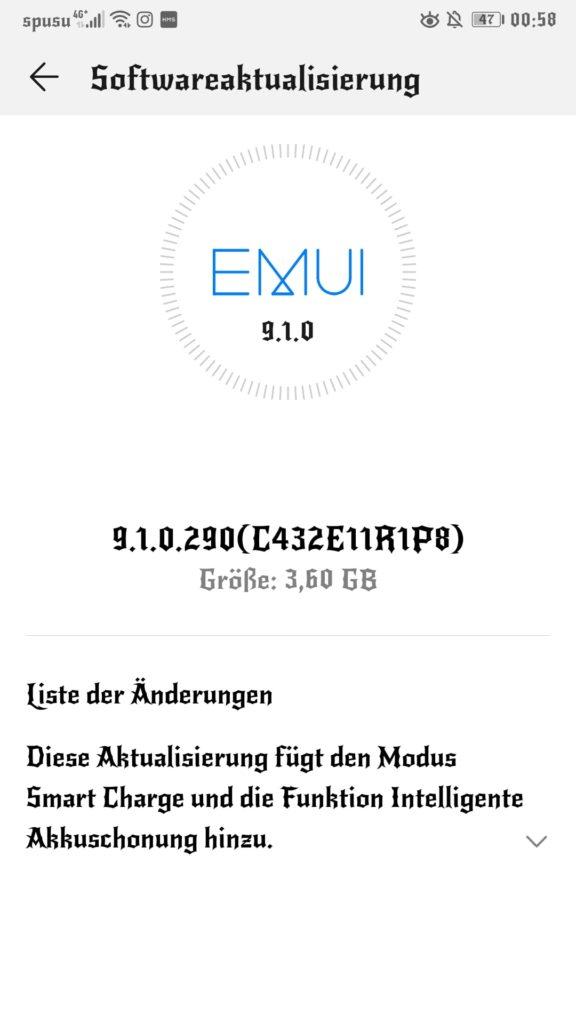 Huawei Mate 9 erhält den Septemberpatch und Funktionen zur Akkuschonung 2