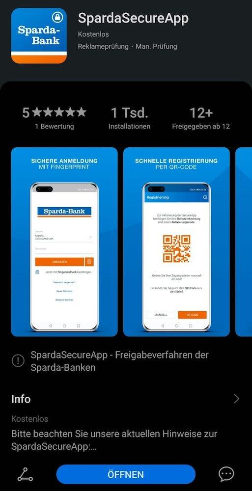 Sparda Banking App für ALLE HUAWEI Geräte 2