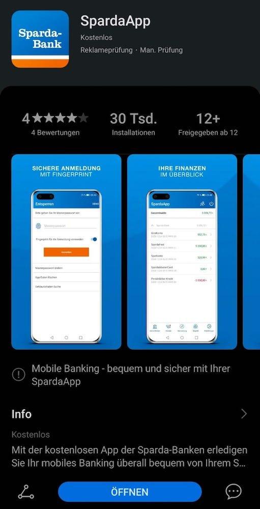 Sparda Banking App für ALLE HUAWEI Geräte 1