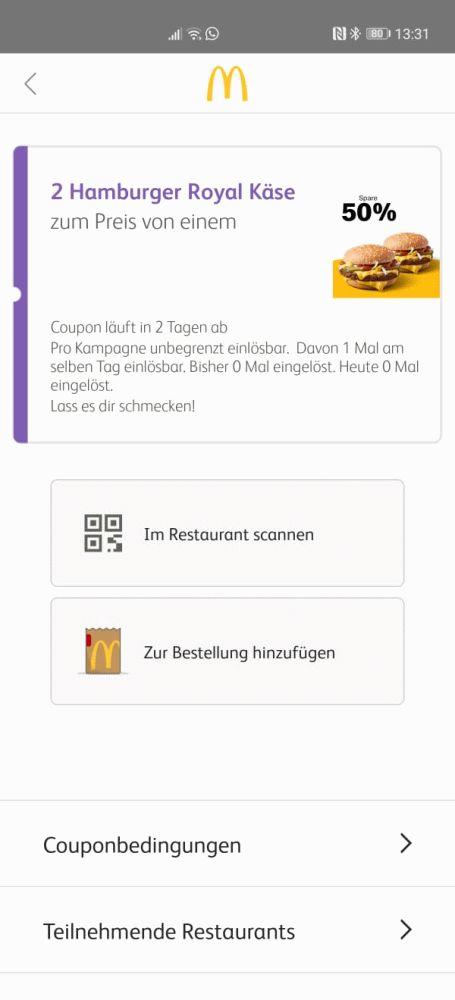Huawei Google Alternative McDonald's