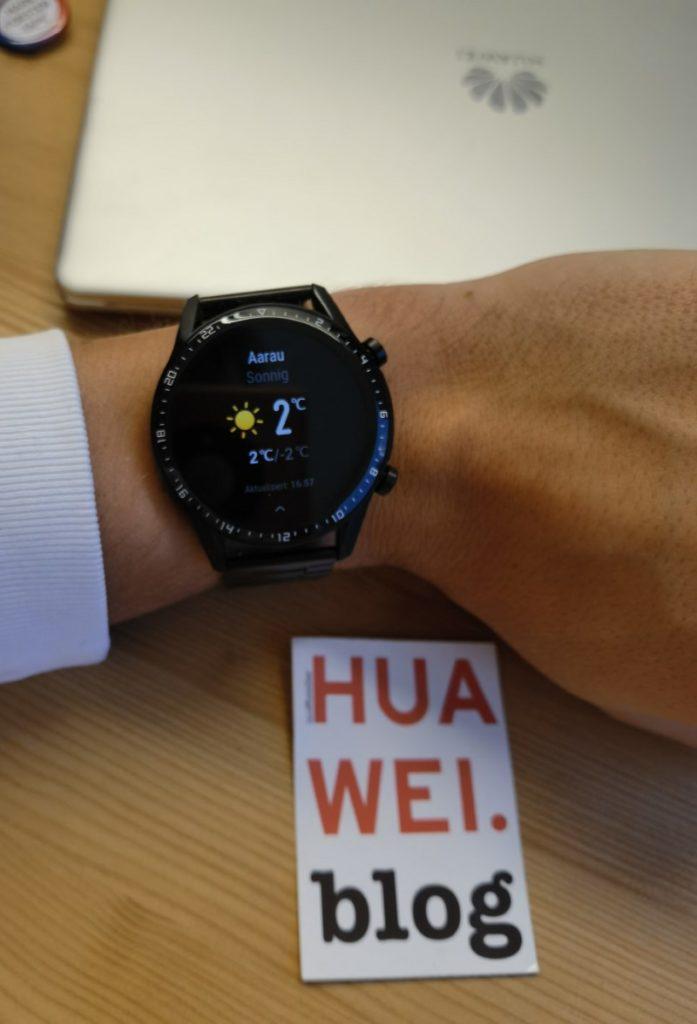 Huawei Watch GT 2 Update mit neuer Wettervorhersage 1