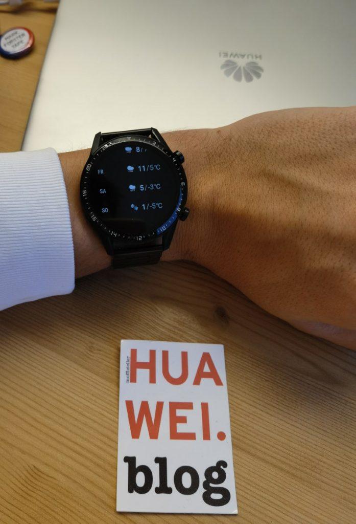 Huawei Watch GT 2 Update mit neuer Wettervorhersage 3
