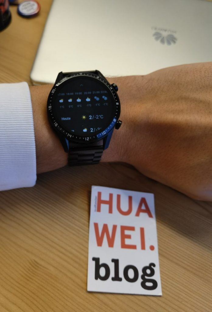 Huawei Watch GT 2 Update mit neuer Wettervorhersage 2