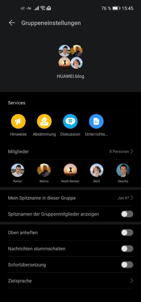 HUAWEI Link Now - Ersatz für WhatsApp? 5