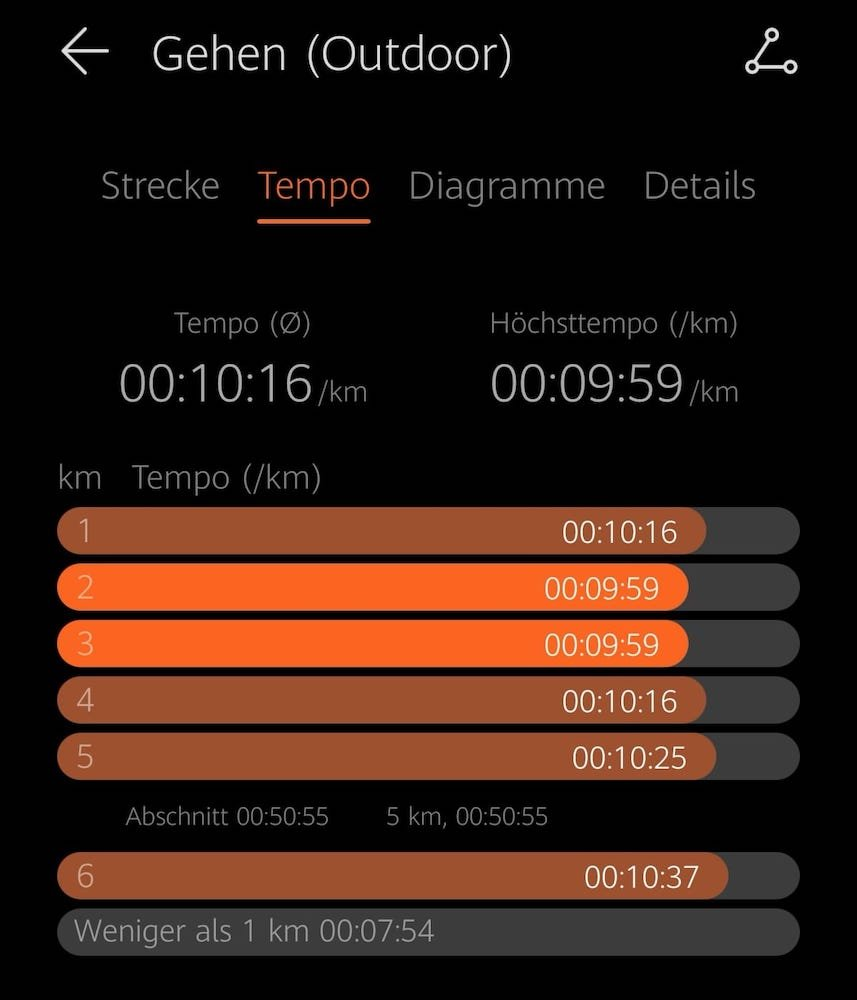 #Rainerwirdfit - Teil 9 - Nordic Walking - Health App 4